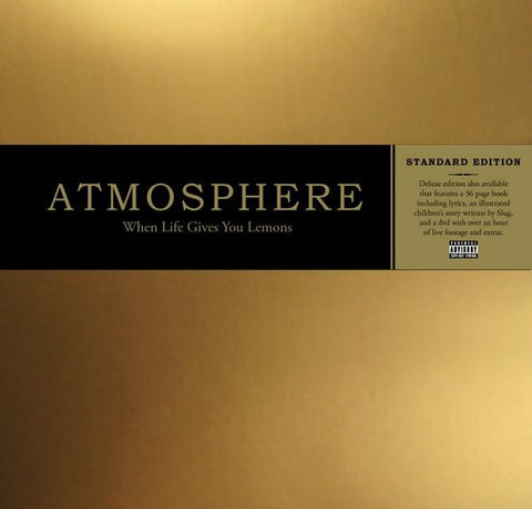 Atmosphere - When Life Gives You Lemons, You Paint That Shit Gold CD - The Giant Peach