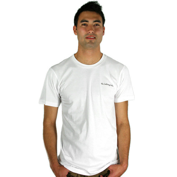 Solitary Arts - White Yolks Men's Shirt, White - The Giant Peach