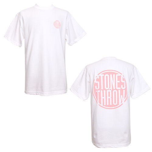 Stones Throw - Stones Throw Logo 2009 Men's Shirt, White - The Giant Peach