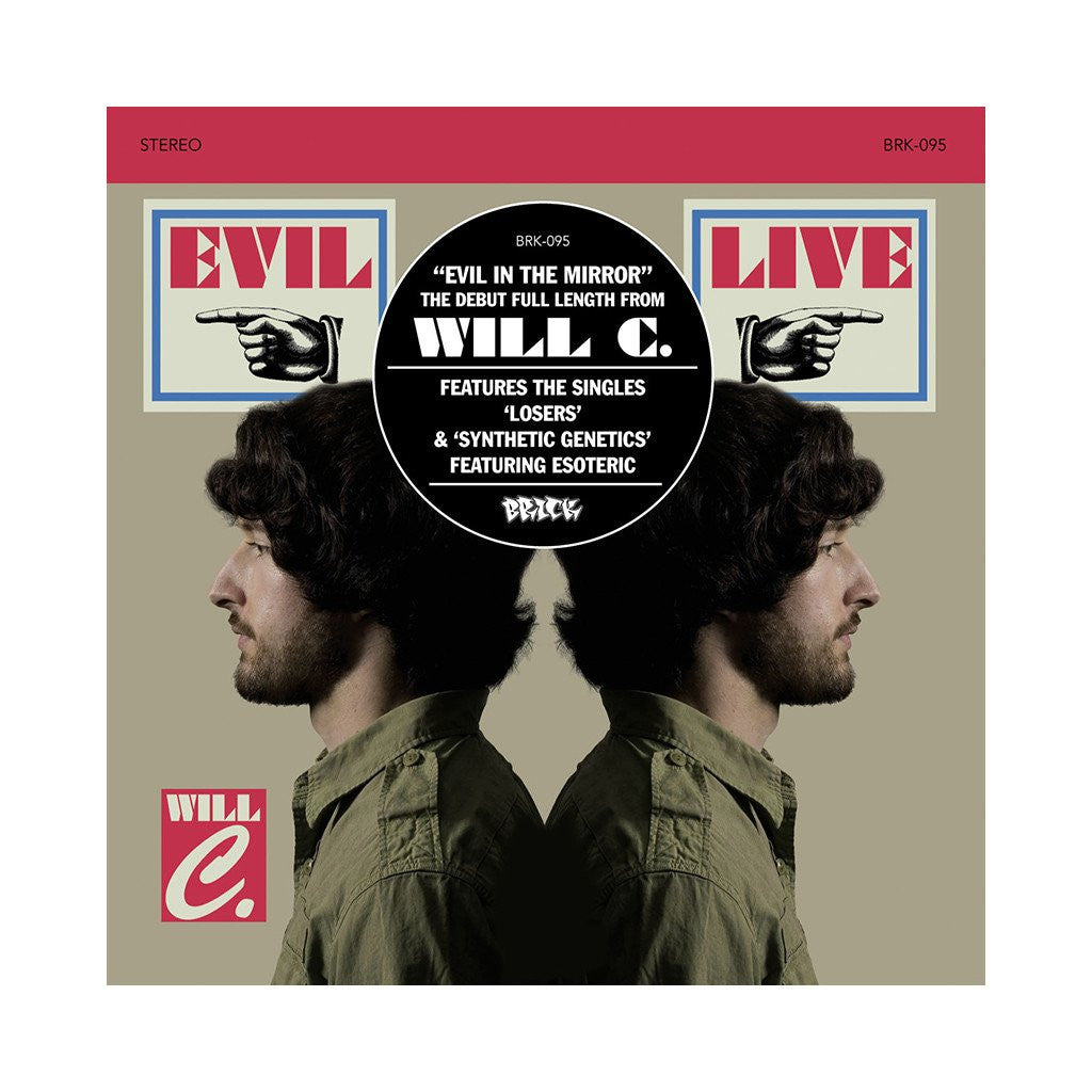 Will C - Evil In The Mirror, CD