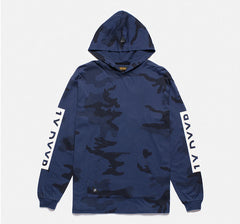 10Deep - Winter Wars Men's Hooded Tee, Midnight Woodland - The Giant Peach - 1