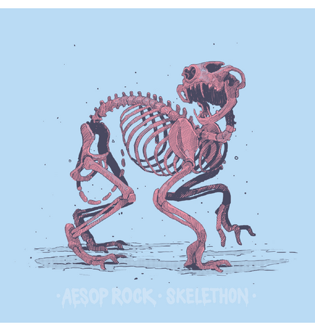 Aesop Rock - Skelethon Women's Shirt, Light Blue