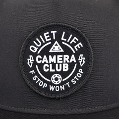 The Quiet Life - Won't Stop Snapback, Black - The Giant Peach