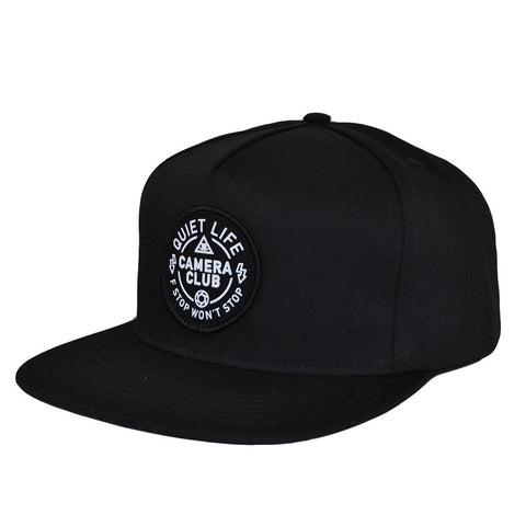The Quiet Life - Won't Stop Snapback, Black
