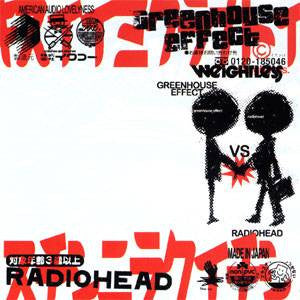 Greenhouse Effect vs Radiohead, CD - The Giant Peach