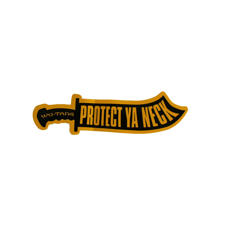 Wu-Tang Clan - Protect Ya Neck Sticker