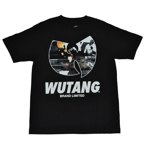 Wu-Tang Brand Ltd - W Distortion Men's Shirt, Black