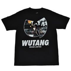 Wu-Tang Brand Ltd - W Distortion Men's Shirt, Black - The Giant Peach