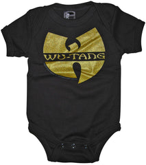Wu-tang Clan Infant One Piece, Black - The Giant Peach