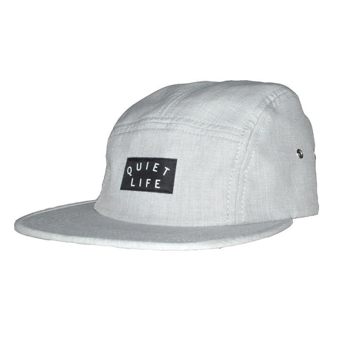 The Quiet Life - Xanadu Men's 5 Panel Hat, Grey