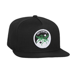 HUF - Yin Yang Snapback, Black - The Giant Peach