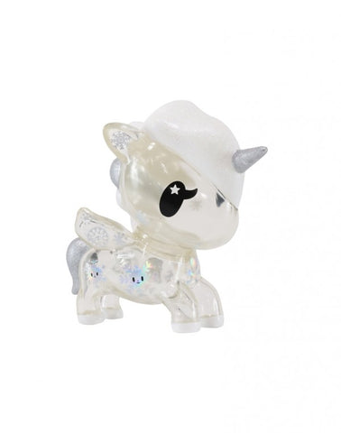 "tokidoki - Holiday 5"" Yuki Unicorno Vinyl Figure, Clear"