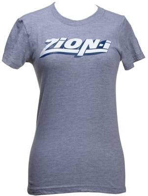 Zion-I - Logo Women's Shirt, Heather Grey - The Giant Peach