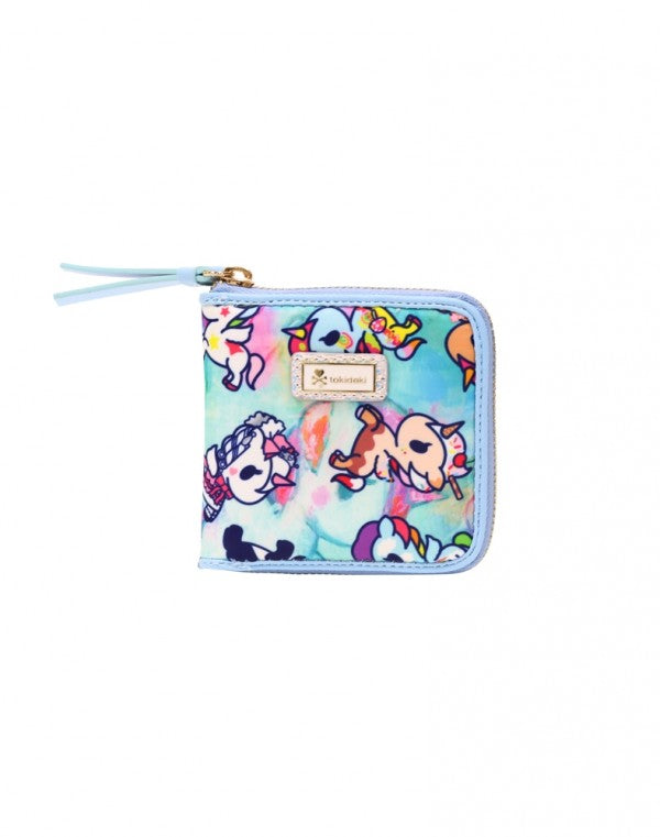 tokidoki - Watercolor Paradise Small Zip Around Wallet