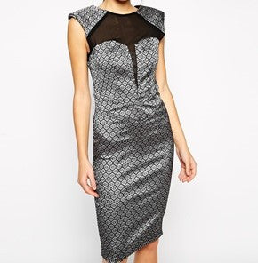 Fifty shades of grey dress - Midnight