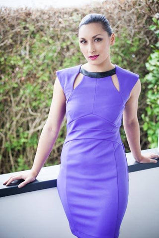 Purple Dress - Midnight