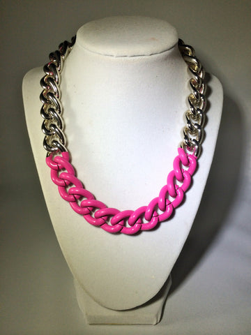 Candy Coated Chain Necklace