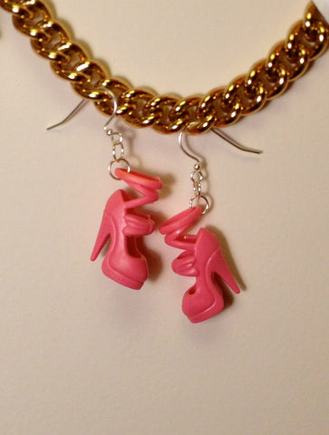Assorted Barbie Shoe Earrings