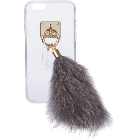 iPhone Case with Fur Tail