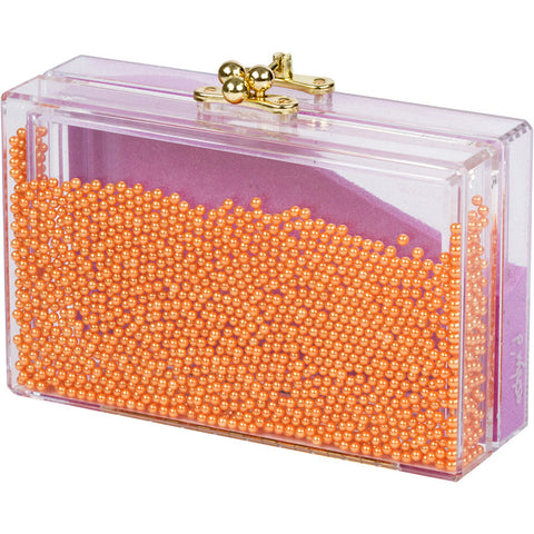 Arielle: Marigold Pearls + Orchid Sand