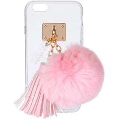 iPhone Case with Fur Ball and Tassel - ashlyn'd - 2