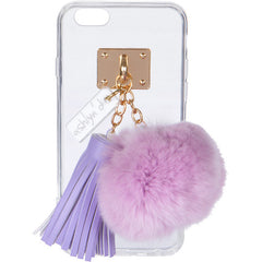 iPhone Case with Fur Ball and Tassel - ashlyn'd - 3