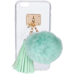 iPhone Case with Fur Ball and Tassel - ashlyn'd - 4