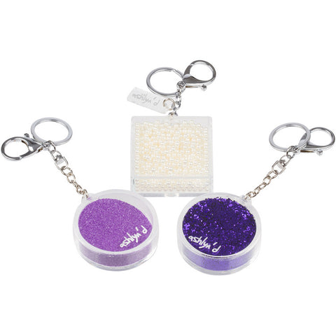 Shaker Keychain - Lots of colors available!
