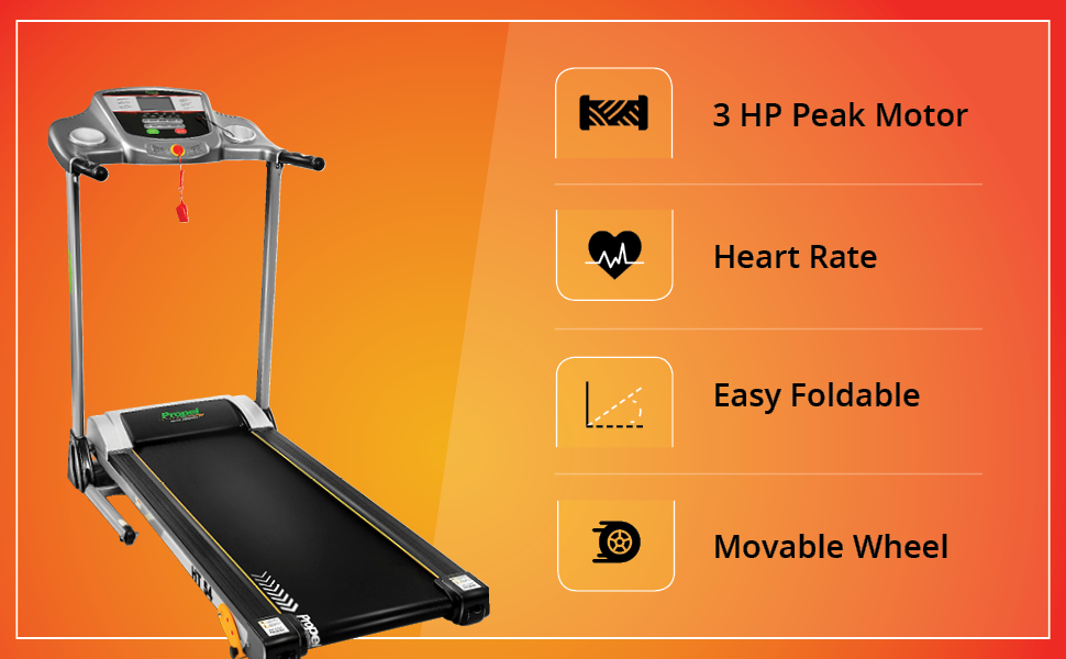 Treadmill HT54 Features
