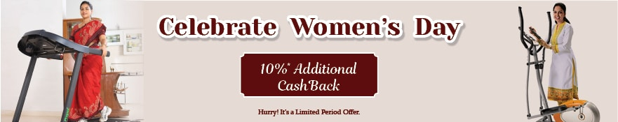 Women's Day Offer. Weight Loss Fitness Equipments