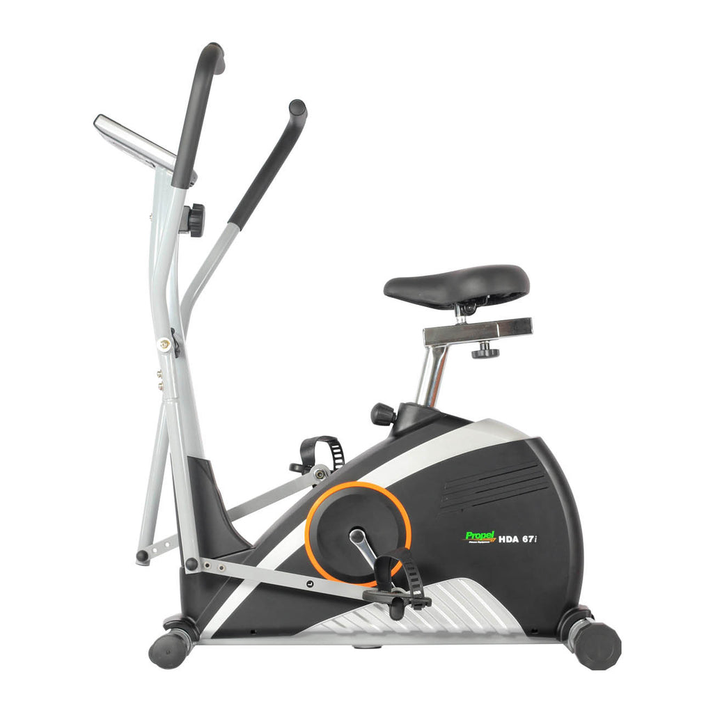 Propel cross trainer with seat