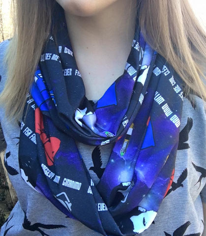 11th Doctor Inspired Infinity Scarf