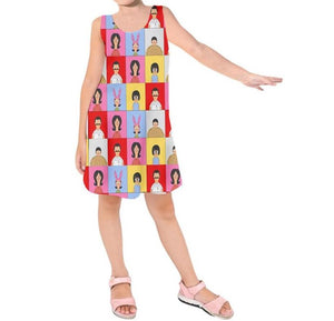 Belcher Bunch - Kids Sleeveless Dress