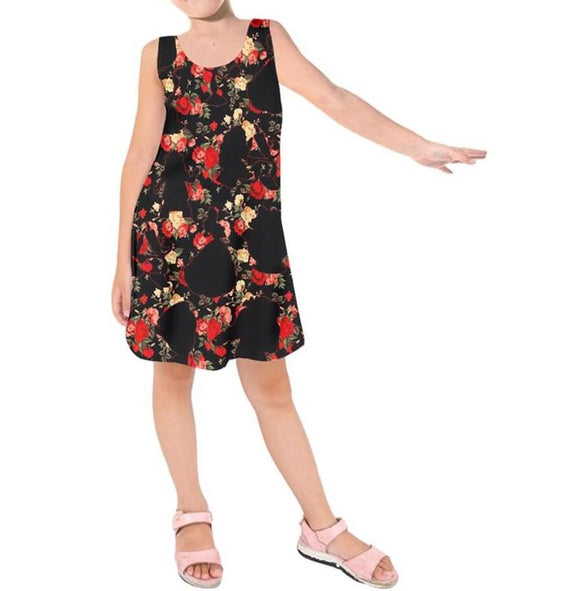 Beauty & The Shape of the Beast | Kids Sleeveless Dress