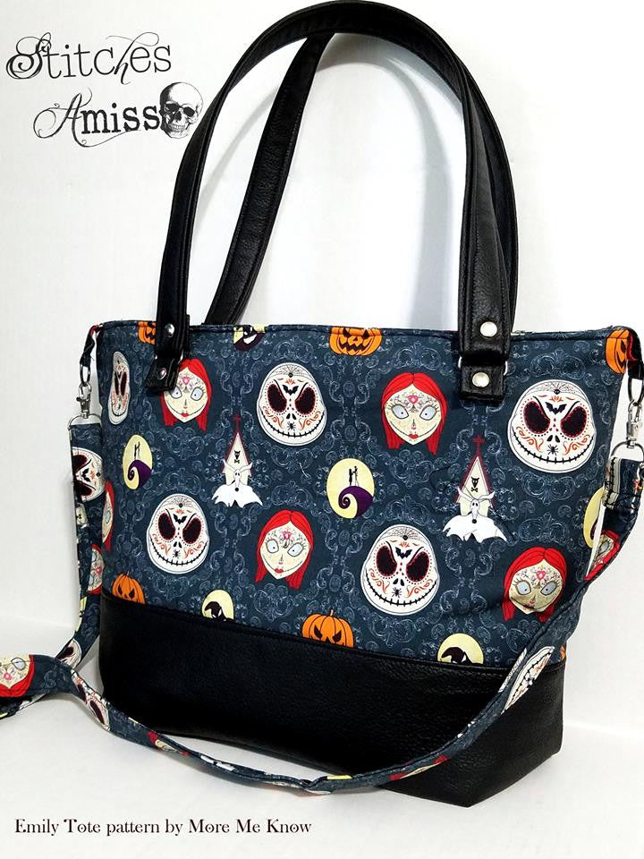 The Emily Tote Bag 2.0 - Sewing Pattern – More Me Know