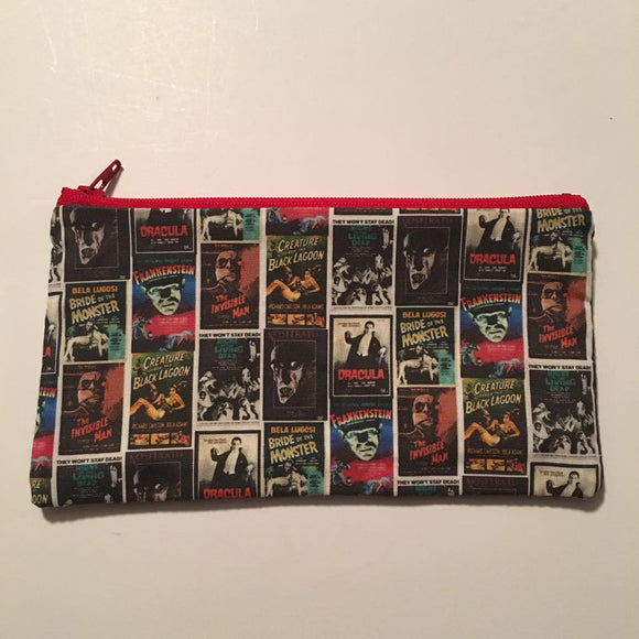 Monster Madness Zipper Pouch