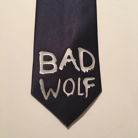 Bad Wolf Inspired regular Neck Tie