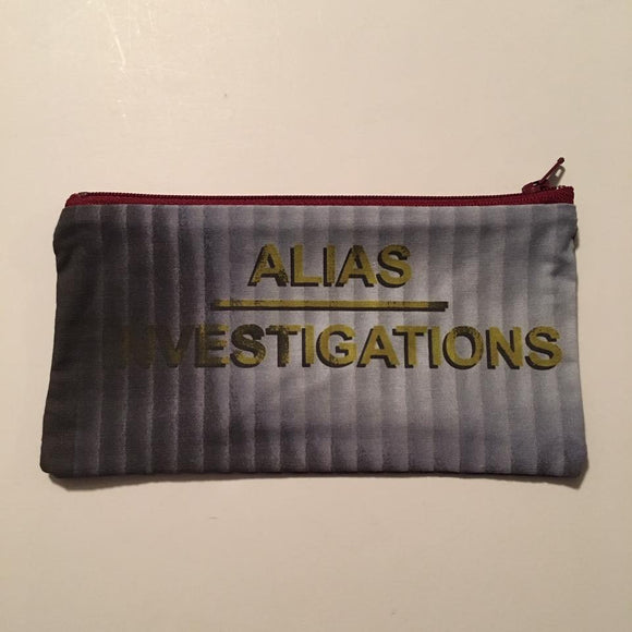 Alias Investigations Zipper Pouch