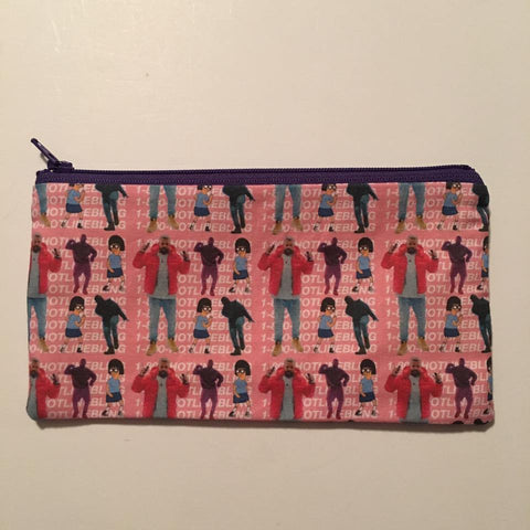 1-800 Dance Zipper Pouch