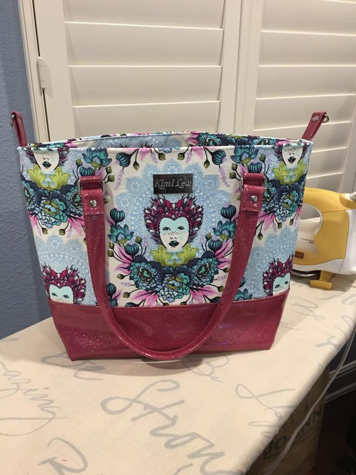 The Emily Tote Bag - Sewing Pattern – More Me Know
