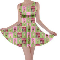Louise Blocks Skater Dress