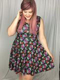 Eye Love Flowers | Skater Dress