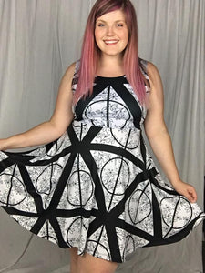 Deathly Hallows Skater Dress