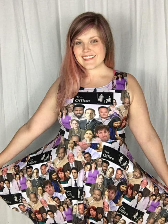 The Office Inspired Skater Dress