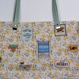 Homage to the S.H. Tote Bag With Vinyl Accent