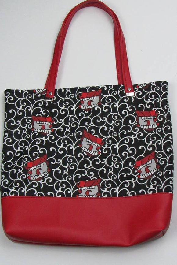 Howlers Canvas Tote Bag With Vinyl Accent