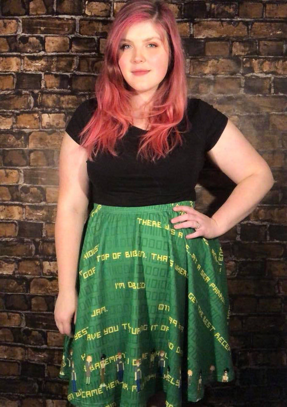 IT Crowd | Skater Skirt