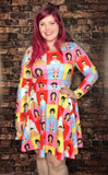 The Belcher Bunch | Long Sleeved Skater Dress
