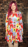 The Belcher Bunch Long Sleeved Skater Dress