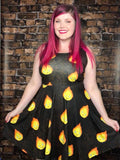 Calcifer Skater Dress